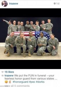 Honor Guard dishonors