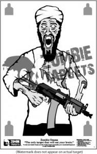 Osama Bin Laden Zombie target