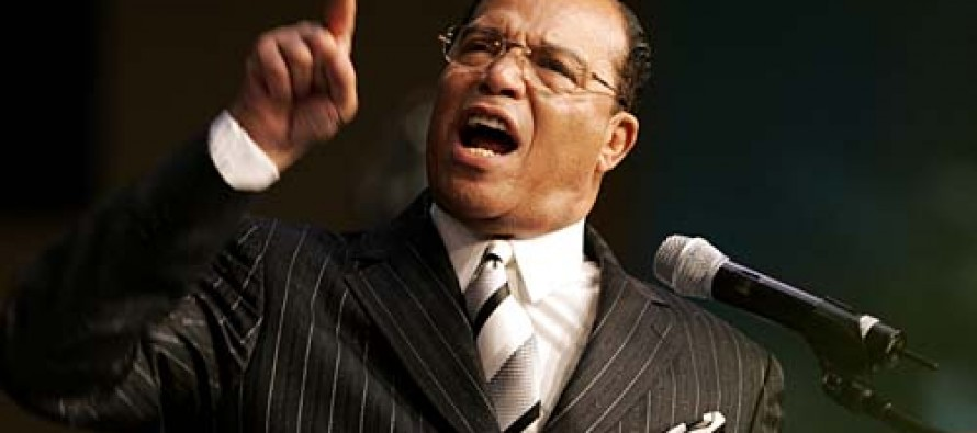 "Farrakhan Asks Obama to Prove Existence of UFO That Will ""Destroy White America"""