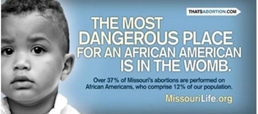 African American Genocide: In Mississippi, 72% of the Babies Aborted Are Black even though whites outnumber blacks 2 to 1