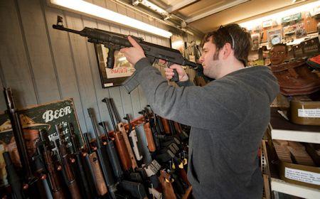 assault weapon gun