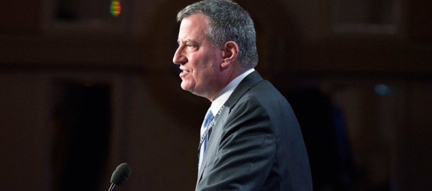 New York Mayor Bill de Blasio threatens to sue illegal means to impose taxes on The Rich