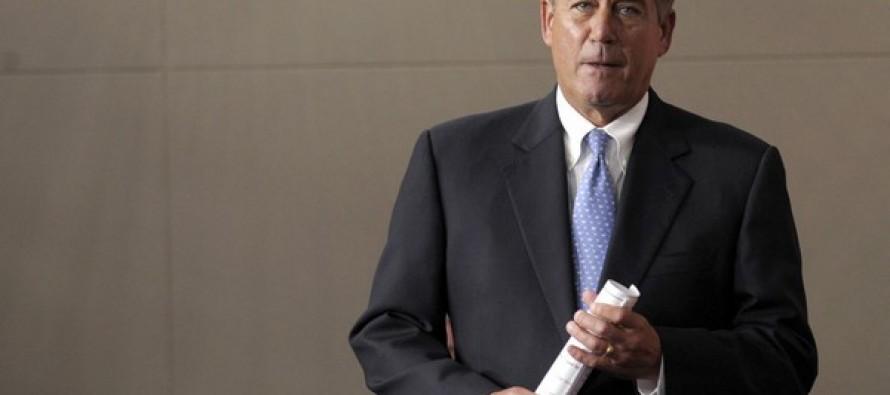 Boehner Lacks GOP Support for Immigration Reform