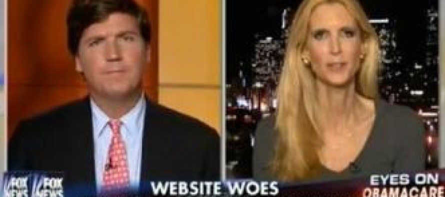 Ann Coulter tells horror story: 'My friend's sister died today because of Obamacare'