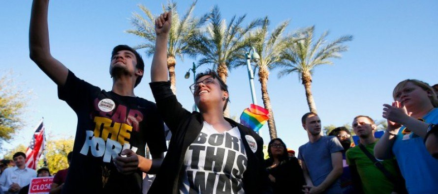 LBGT Activist overhyping discriminations claims concerning Arizona's bill protecting religious freedom