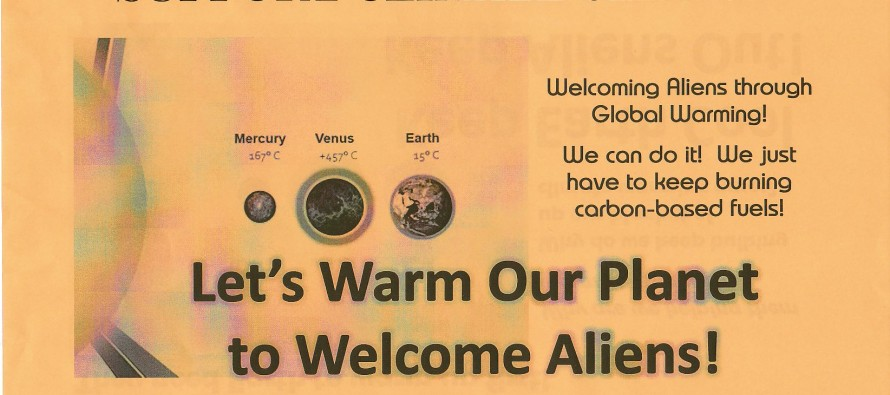"""Gore Warns Enthusiasts at UFO Conference: Global Warming Will Cause An """"Alien Invasion""""…"""