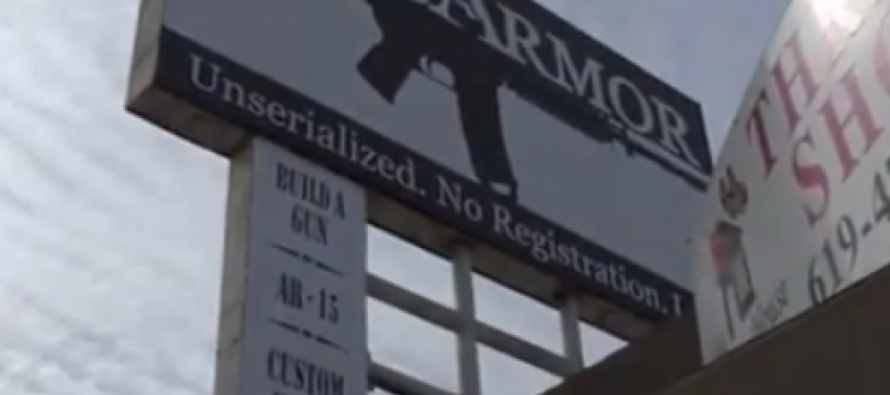 "Officials in a California City Threaten Gun Store Over Sign Featuring An AR-15, ""Take Down That Sign Or Go To Jail""…"