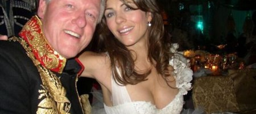 Bill Clinton Had A Year Long Affair With Elizabeth Hurley & They Had Sex While Hillary Was In The Next Room