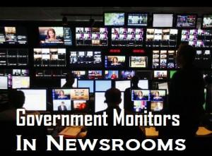 newsrooms government monitors