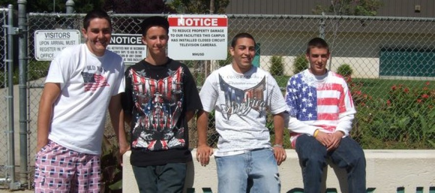 Liberal Court Backs School That Forced Students To Remove American Flag Clothing For Fear of Ethnic Violence
