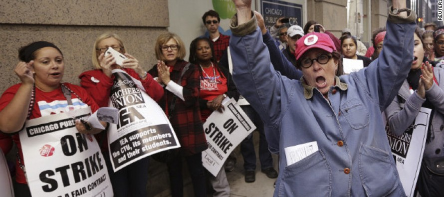 Illinois Bill Forcing Schools To Teach The Greatness Of Unions