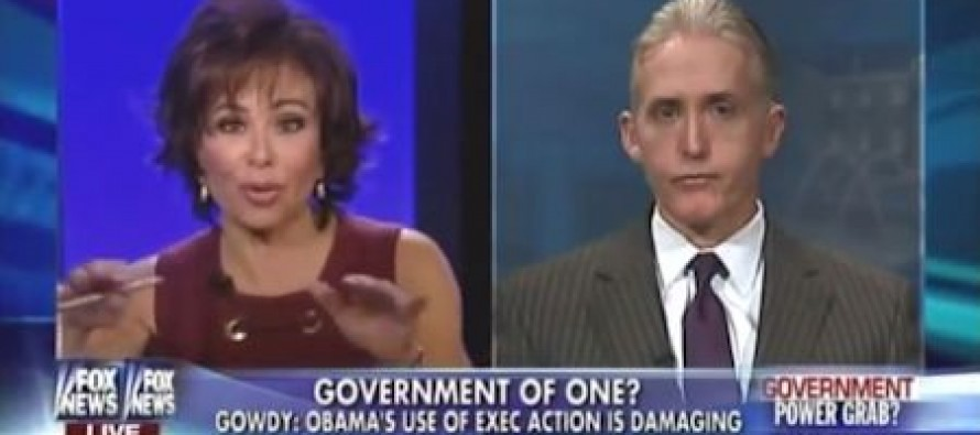 Trey Gowdy: You're ***** Right We'll Strip Obama of Funding