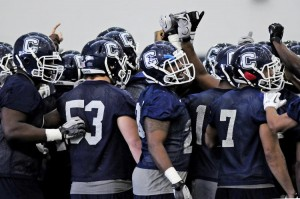 UConn Football Spring Practice