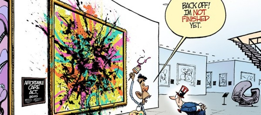 Obamacare Changes (Cartoon)