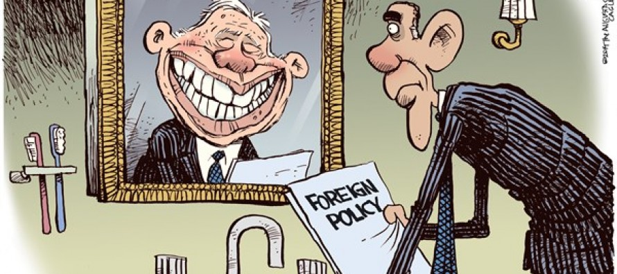 Obama Carter Mirror (Cartoon)