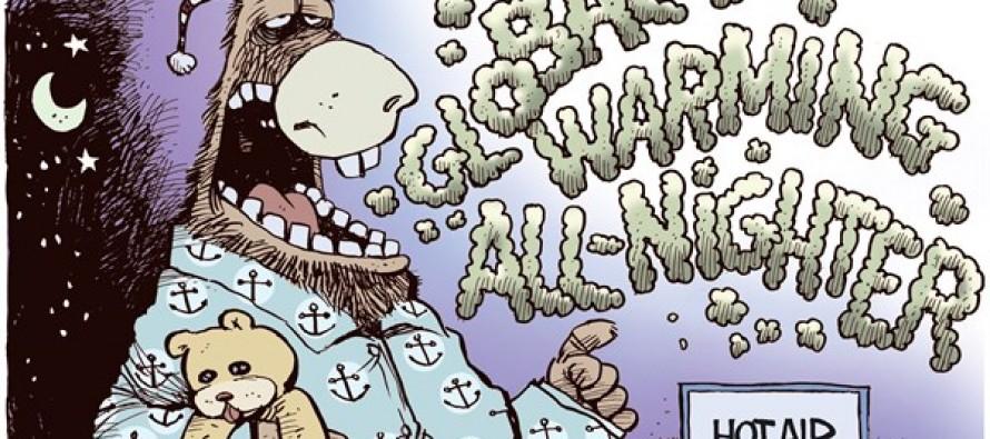 Democrat Hot Air (Cartoon)