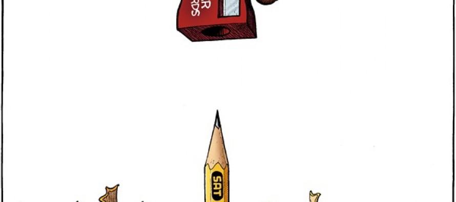 SAT Changes (Cartoon)