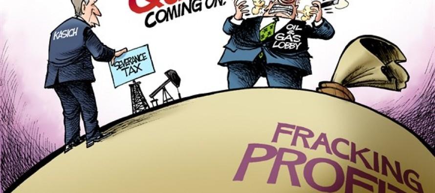 LOCAL OH – Fracking Quake (Cartoon)