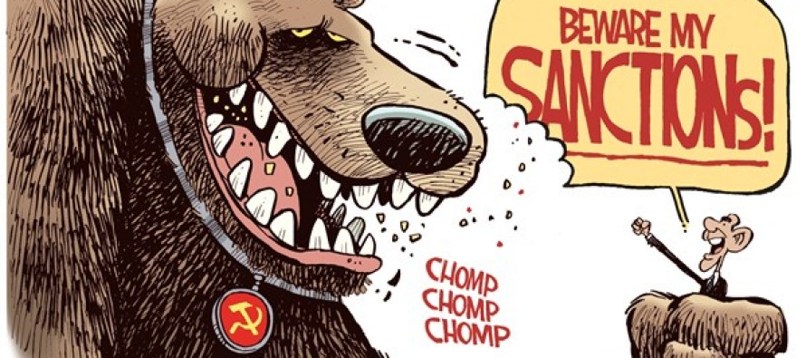 Russian Sanctions (Cartoon)