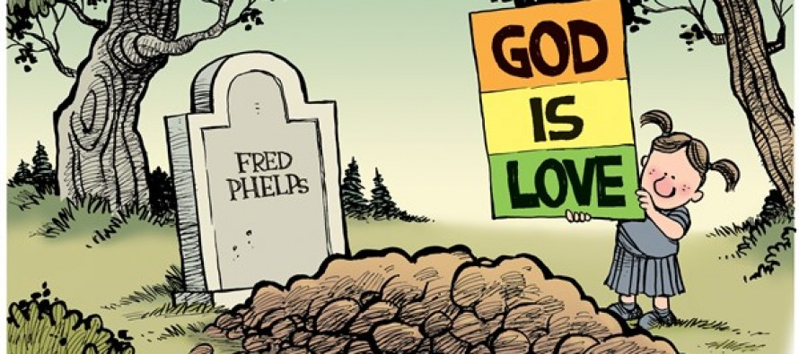 Fred Phelps (Cartoon)