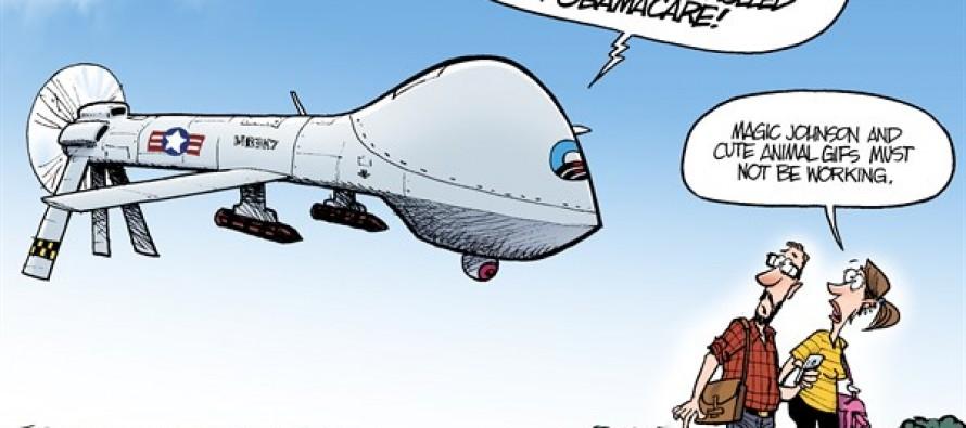 Obamacare Enrollment (Cartoon)
