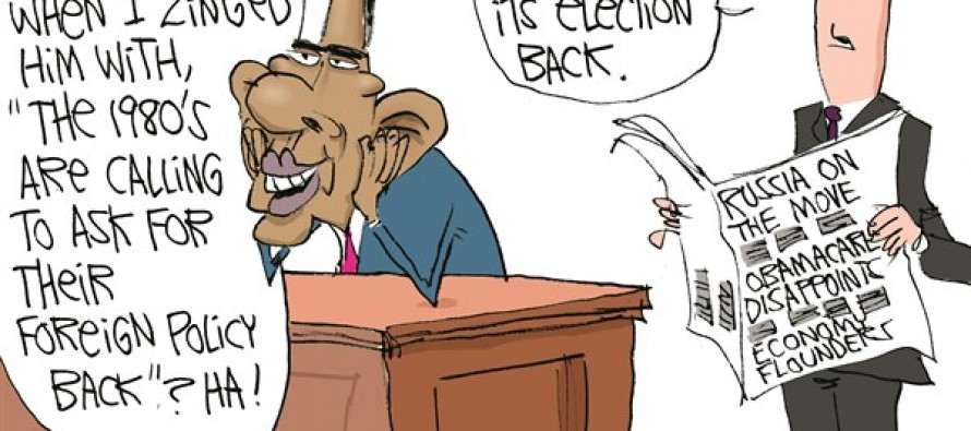 Country Rejecting Obama (Cartoon)