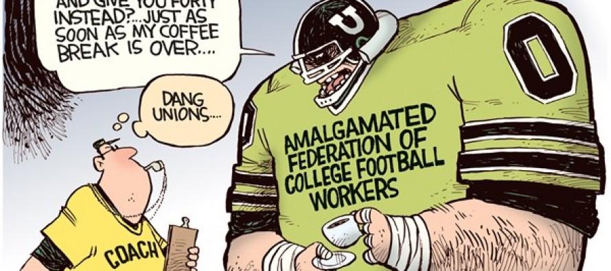 College Football Union (Cartoon)