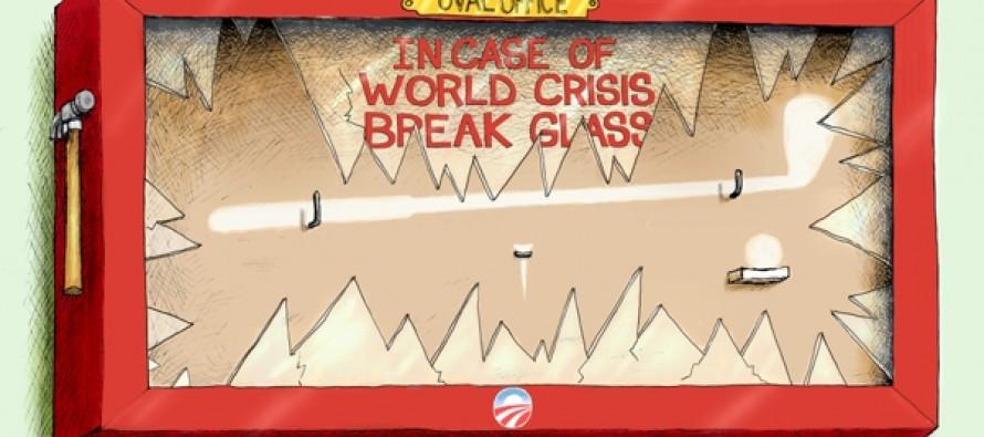 World In Crisis, Break Glass