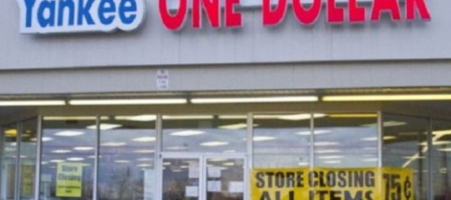 Yankee One Dollar Store Closes; Blames Obamacare and Minimum Wage Hike