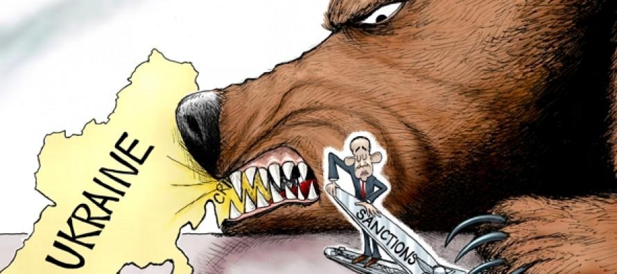 Sanctions Bear Little (Cartoon)
