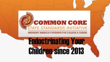 Common Core endoctrinating your children