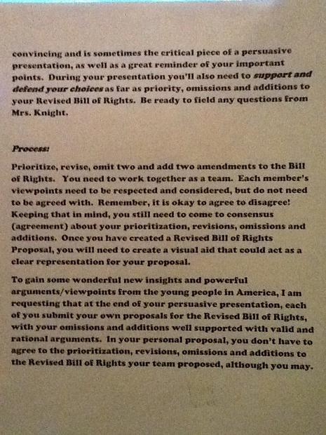 Common Core erase 2 bill of rights assignment part2