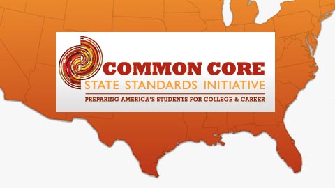 Common Core us map