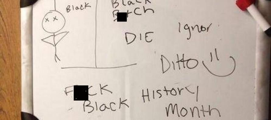FAKE HATE: Black Michigan Student Wrote Hateful Messages On Her Own Dorm Room Door