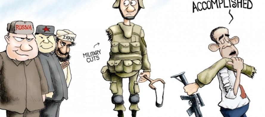 Unarmed Forces (Cartoon)