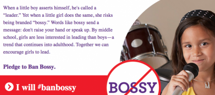 "Lib Women and Girlscouts of America Want To Ban The Word ""Bossy"" Because It's Sexist"