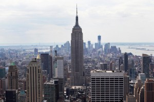 File photo of the Empire State Building in New York