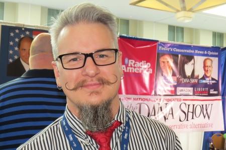 Chris Loesch's mustache is MIGHTY!