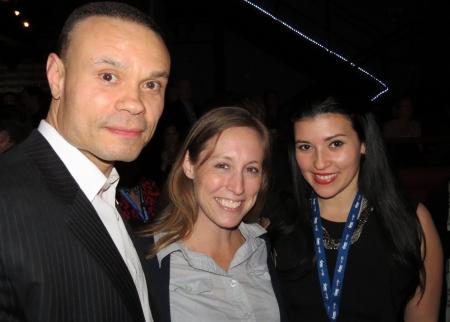Dan Bongino, Ericka Andersen & Bettina Inclan at Blog Bash.