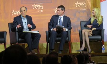 Mickey Kaus & Ann Coulter debate while Jonathan Garthwaite moderates