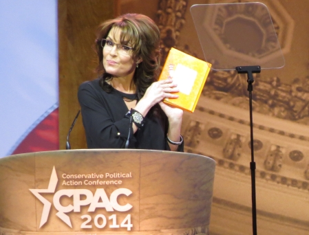 The highlight of the conference was Sarah Palin doing her version of Dr. Seuss in the final speech of the event.
