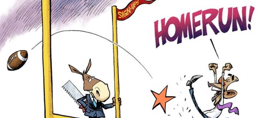 Obamacare Goal (Cartoon)