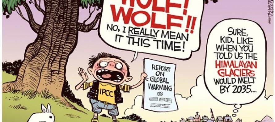 IPCC Cries Wolf (Cartoon)