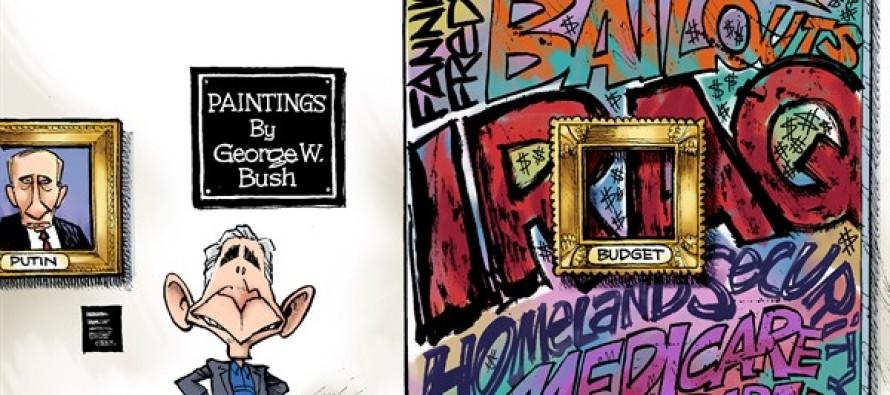 Bush Paintings (Cartoon)