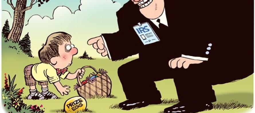 Untaxed Easter (Cartoon)