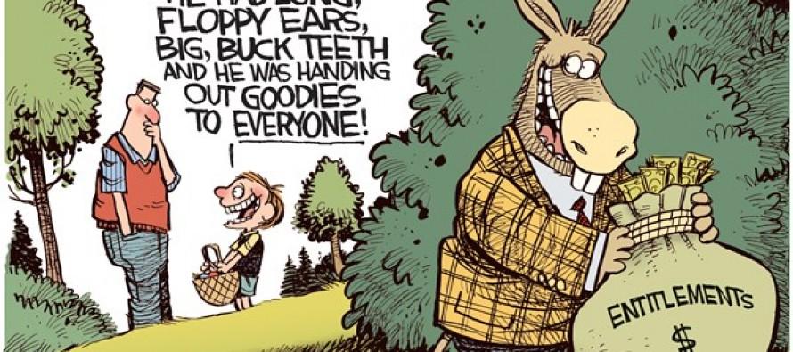 Easter Donkey (Cartoon)