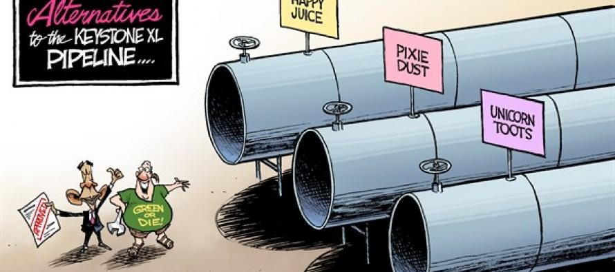 Keystone Alternatives (Cartoon)