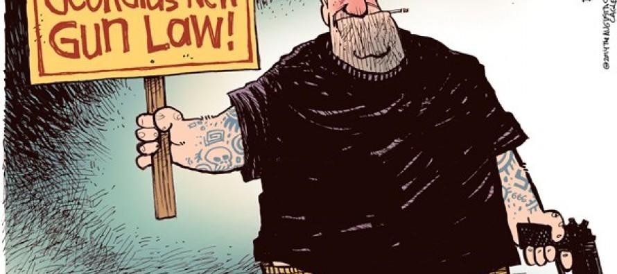 New Ga Gun Law (Cartoon)