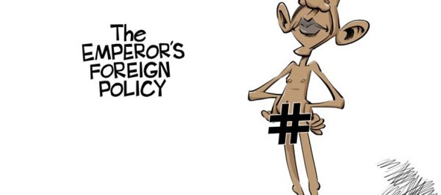 Hashtag diplomacy (Cartoon)