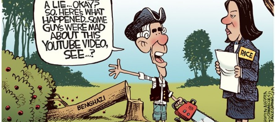 Benghazi Email (Cartoon)